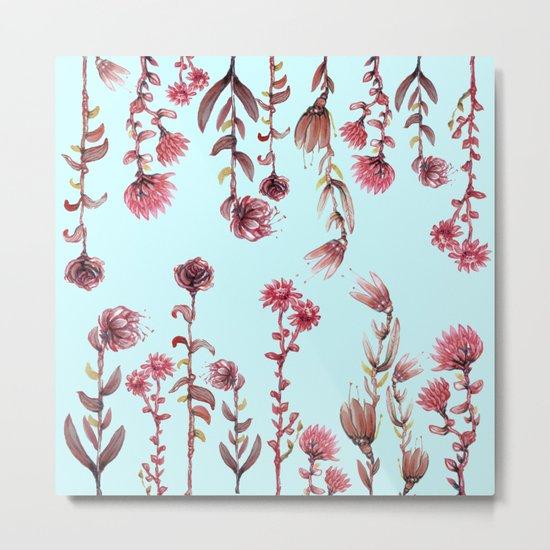 For Her (water color Garden!) Metal Print