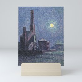 Factory in the Moonlight Maximilien Luce Mini Art Print
