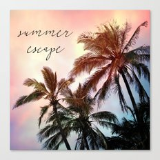 summer escape Canvas Print