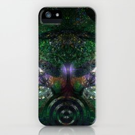 Sacred Forest Garden iPhone Case