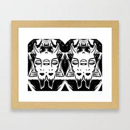 HA SATAN HA SATAN Framed Art Print