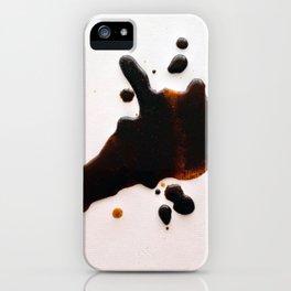 Coffeeania iPhone Case