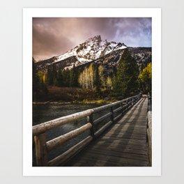 Jenny Lake, Grand Teton NP Art Print