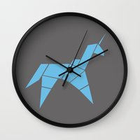 blade runner Wall Clocks featuring Blade Runner by FilmsQuiz
