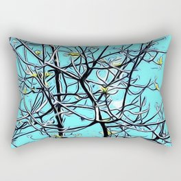 Sky blue Rectangular Pillow