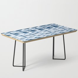Glitch Waves - Classic Blue Coffee Table