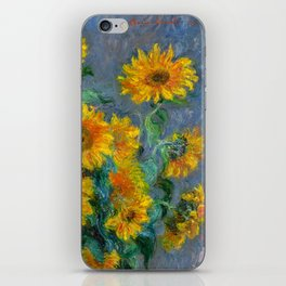 Bouquet of Sunflowers - Claude Monet iPhone Skin