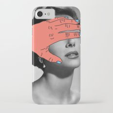 Burning Hands iPhone 7 Slim Case