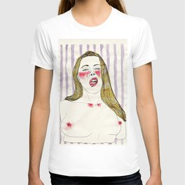 An erotic point of view - mouth T-shirt