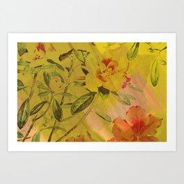 hi-def hibiscus Art Print