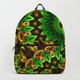 Jungle Vibes Mandala Backpack