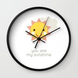 MY SUNSHINE Wall Clock
