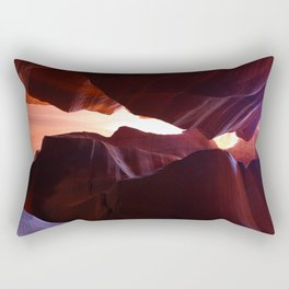 A Colorful Symphony In Stone Rectangular Pillow