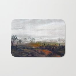 Misty meadow Bath Mat