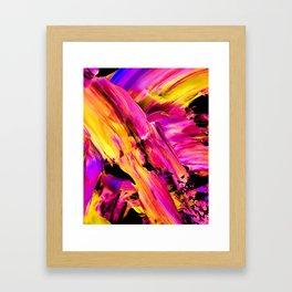 Explode Framed Art Print