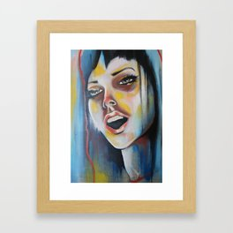 Rainbowgasm Framed Art Print