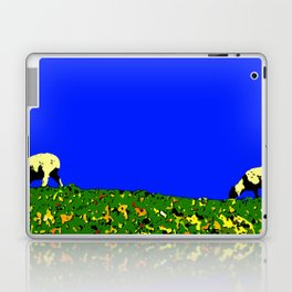 Bookends - Two Sheep - Cuckmere Haven, Sussex, UK Laptop & iPad Skin