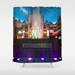 """Fountain Show"" Shower Curtain"