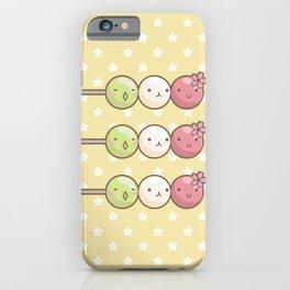 Hanami Dango iPhone Case