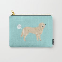 golden retriever funny farting dog breed gifts Carry-All Pouch