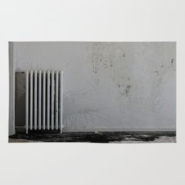 LOST PLACES - pissing radiator Rug