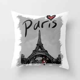 Paris - Travel Serie Throw Pillow