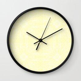 Pastel Chaos 16 Wall Clock
