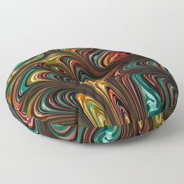 Trippy Fractal Floor Pillow