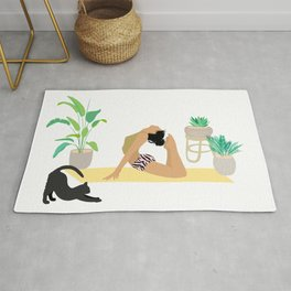 Keep Growing - Yoga Girl Power Rug