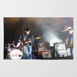 Arctic Monkeys in Brooklyn, New York Rug