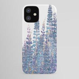 Lupine Love iPhone Case