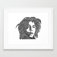 marley Framed Art Prints featuring Marley by Travis Poston