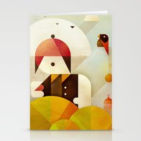 birdman Stationery Cards featuring Birdman by Squizzato