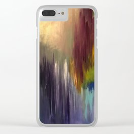 The Messenger Abstract Clear iPhone Case