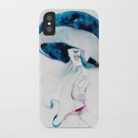 jellyfish iPhone & iPod Cases featuring jellyfish by Leilalilium