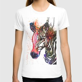 Zebra Splash T-shirt