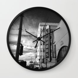 Inner Liquors Black & White San Francisco Wall Clock