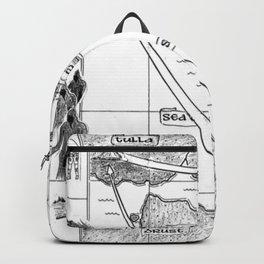 SIREN'S SONG Map (bk 3) Backpack
