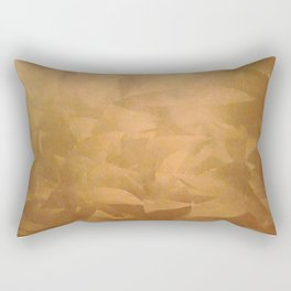Beautiful Copper Metal - Corporate Art - Hospitality Art - Modern Art Rectangular Pillow