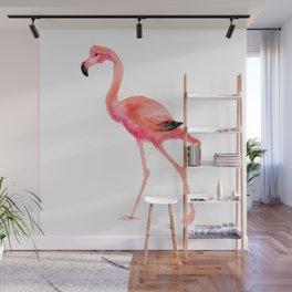 flamingo steps Wall Mural
