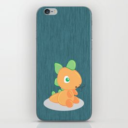 The funny dragon iPhone Skin