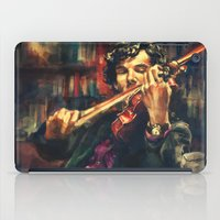 sherlock iPad Cases featuring Virtuoso by Alice X. Zhang