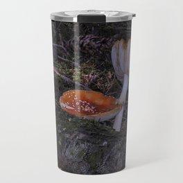 forest mushrooms in sweden Travel Mug