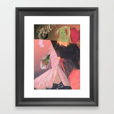 Kill, F-CK, Marry Framed Art Print