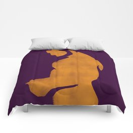 Texting lover Comforters
