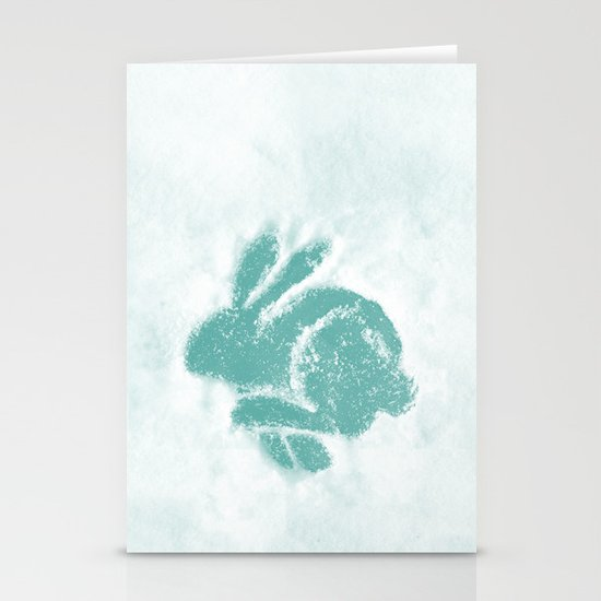 Snowbunny Stationery Cards
