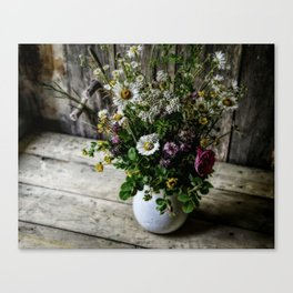 July Bouquet Canvas Print