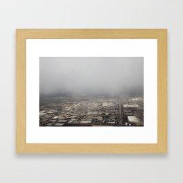 Aerial: 2/16/13 (Near LGA) - 2 Framed Art Print