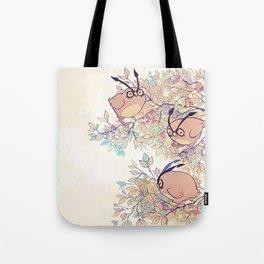 x3 Hoothoot Tote Bag