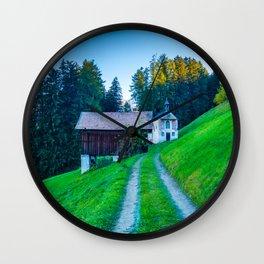 Vipiteno, Italy Wall Clock
